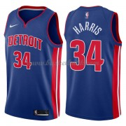 Detroit Pistons Basket Tröja 2018 Tobias Harris 34# Icon Edition..
