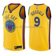 Barn NBA Tröja Golden State Warriors 2018 Andre Iguodala 9# City Edition..