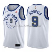 Barn NBA Tröja Golden State Warriors 2018 Andre Iguodala 9# Vit Hardwood Classics..