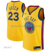 Barn NBA Tröja Golden State Warriors 2018 Draymond Green 23# City Edition..