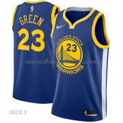 Barn NBA Tröja Golden State Warriors 2018 Draymond Green 23# Icon Edition..