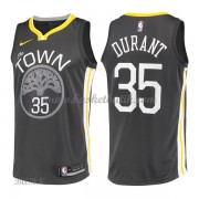 Barn NBA Tröja Golden State Warriors 2018 Kevin Durant 35# Statement Edition..