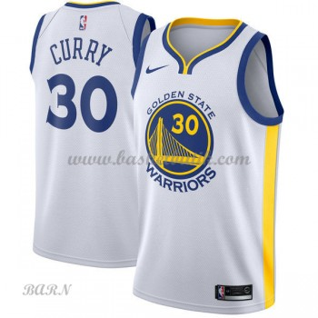Barn NBA Tröja Golden State Warriors 2018 Stephen Curry 30# Association Edition