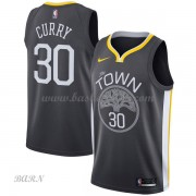 Barn NBA Tröja Golden State Warriors 2018 Stephen Curry 30# Statement Edition..