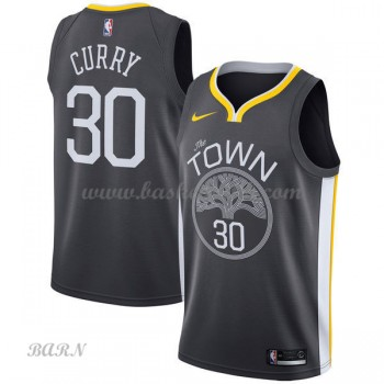 Barn NBA Tröja Golden State Warriors 2018 Stephen Curry 30# Statement Edition