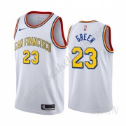 Barn NBA Tröja Golden State Warriors 2019-20 Draymond Green 23# Vit Classics Edition Swingman..