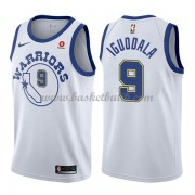 Golden State Warriors Basket Tröja 2018 Andre Iguodala 9# Vit Hardwood Classics..