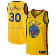 Golden State Warriors Basket Tröja 2018 Stephen Curry 30# City Edition..