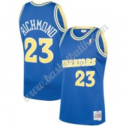 Golden State Warriors Basket Tröja 1990-91 Mitch Richmond 23# Blå Hardwood Classics Swingman..