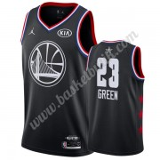 Golden State Warriors 2019 Draymond Green 23# Svart All Star Game NBA Basketlinne Swingman..