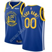 Golden State Warriors Basket Tröja 2019-20 Blå Icon Edition Swingman..