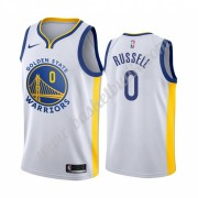 Golden State Warriors Basket Tröja 2019-20 D'Angelo Russell 0# Vit Association Edition Swingman..