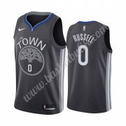 Golden State Warriors Basket Tröja 2019-20 D'Angelo Russell 0# City Edition Swingman..