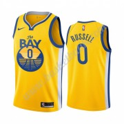Golden State Warriors Basket Tröja 2019-20 D'Angelo Russell 0# Statement Edition Swingman..