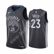 Golden State Warriors Basket Tröja 2019-20 Draymond Green 23# Svart City Edition Swingman..