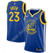 Golden State Warriors Basket Tröja 2019-20 Draymond Green 23# Blå Icon Edition Swingman..
