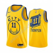 Golden State Warriors Basket Tröja 2019-20 Klay Thompson 11# Gul Classics Edition Swingman..