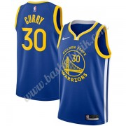 Golden State Warriors Basket Tröja 2019-20 Stephen Curry 30# Blå Icon Edition Swingman..