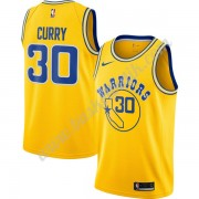 Golden State Warriors Basket Tröja 2019-20 Stephen Curry 30# Guld Hardwood Classics Swingman..