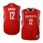 Barn NBA Tröja Houston Rockets Dwight Howard 12# Road..