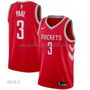 Barn NBA Tröja Houston Rockets 2018 Chris Paul 3# Icon Edition..