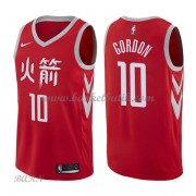 Barn NBA Tröja Houston Rockets 2018 Eric Gordon 10# City Edition..
