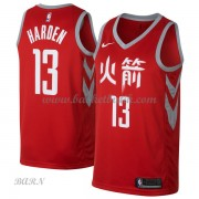 Barn NBA Tröja Houston Rockets 2018 James Harden 13# City Edition..