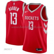 Barn NBA Tröja Houston Rockets 2018 James Harden 13# Icon Edition..