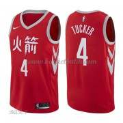 Barn NBA Tröja Houston Rockets 2018 P.J. Tucker 2# City Edition..