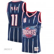 Barn NBA Tröja Houston Rockets 2002-03 Yao Ming 11# Navy Hardwood Classics..
