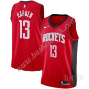 Barn NBA Tröja Houston Rockets 2019-20 James Harden 13# Röd Icon Edition Swingman..