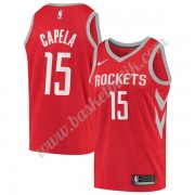 Houston Rockets Basket Tröja 2019-20 Clint Capela 15# Röd Icon Edition Swingman..