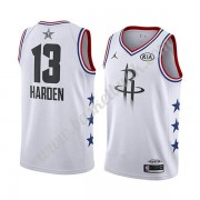 Houston Rockets 2019 James Harden 13# Vit All Star Game NBA Basketlinne Swingman..