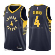 Barn NBA Tröja Indiana Pacers 2018 Victor Oladipo 4# Icon Edition..
