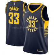 Indiana Pacers Basket Tröja 2018 Myles Turner 33# Icon Edition..