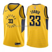 Indiana Pacers Basket Tröja 2018 Myles Turner 33# Statement Edition..