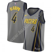 Indiana Pacers Basket Tröja 2019-20 Victor Oladipo 4# grå City Edition Swingman..