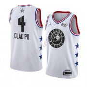 Indiana Pacers 2019 Victor Oladipo 4# Vit All Star Game NBA Basketlinne Swingman..