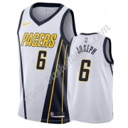 Indiana Pacers Basket Tröja 2019-20 Cory Joseph 6# Vit Earned Edition Swingman..