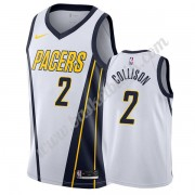 Indiana Pacers Basket Tröja 2019-20 Darren Collison 2# Vit Earned Edition Swingman..