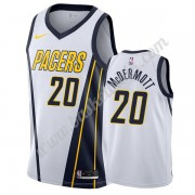 Indiana Pacers Basket Tröja 2019-20 Doug McDermott 20# Vit Earned Edition Swingman..