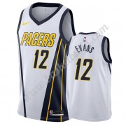Indiana Pacers Basket Tröja 2019-20 Tyreke Evans 12# Vit Earned Edition Swingman..