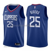 Barn NBA Tröja Los Angeles Clippers 2018 Austin Rivers 25# Icon Edition..