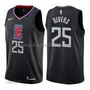 Barn NBA Tröja Los Angeles Clippers 2018 Austin Rivers 25# Statement Edition..