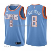 Barn NBA Tröja Los Angeles Clippers 2018 Danilo Gallinari 8# City Edition..