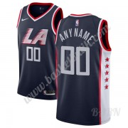 Barn NBA Tröja Los Angeles Clippers 2019-20 Marinblå City Edition Swingman..