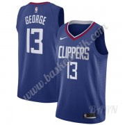 Barn NBA Tröja Los Angeles Clippers 2019-20 Paul George 13# Blå Icon Edition Swingman..
