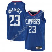 Los Angeles Clippers Basket Tröja 2019-20 Lou Williams 23# Blå Icon Edition Swingman..