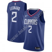Los Angeles Clippers Basket Tröja 2019-20 Kawhi Leonard 2# Blå Icon Edition Swingman..