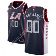 Los Angeles Clippers Basket Tröja 2019-20 Marinblå City Edition Swingman..